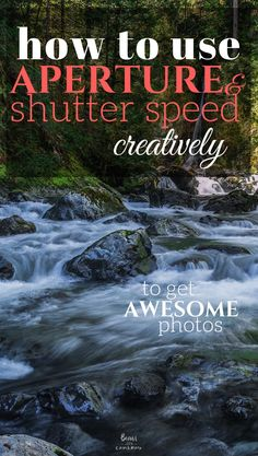how to use aperture and shutter speed creatively to get awesome photos - Nikon - Trending Nikon for sales. - Aperture and Shutter Speed do much more than just correctly expose your photos. If used creatively they can produce some awesome effects!