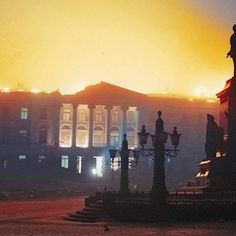the_ww2_memoirs Pictured above is the main University building in Helsinki set ablaze by Soviet bombs during the bombardment of the Finnish capital city during the Winter War, November 30th, 1939. The Winter War started that day and the Soviets began to pour troops across the border and send Soviet aircraft to bombard the capital. Many were killed and injured during the course of the bombings but Finnish morale was not altered. The Soviets greatly underestimated the strength and will of the…