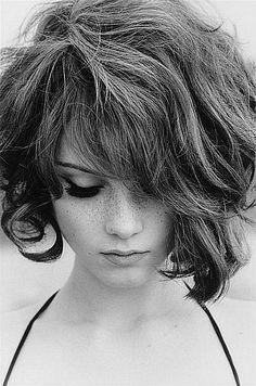 i love short curly hair. so cute!