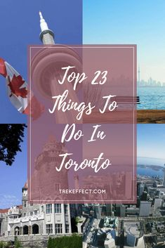 Wondering what to do in Toronto? From a trip to the iconic Niagara Falls to a dose of culture at the Royal Ontario Museum, we've listed down the best and most fascinating things to do in Toronto.
