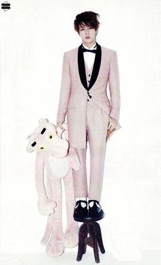 W Korea December Issue - Jin ♡