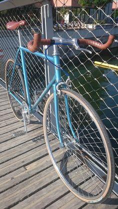Singlespeed Motobécane sur la base d'un ancien vélo de course