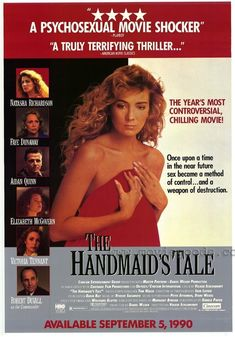 The Handmaid's Tale posters for sale online. Buy The Handmaid's Tale movie posters from Movie Poster Shop. We're your movie poster source for new releases and vintage movie posters. Aidan Quinn, Natasha Richardson, Robert Duvall, American Movie Classics, Gossip Girl Episodes, Elizabeth Mcgovern, The Big Sleep, Sci Fi Horror Movies, 120 Film