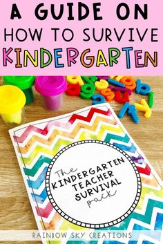 Kindergarten Survival Guide - Let us help you get organised and have a successful year with this han Classroom Display Boards, Classroom Organisation, Classroom Posters, Classroom Displays, Classroom Setup, Classroom Management, Organization, School Resources, Teacher Resources
