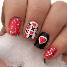 valentine by beregnails #nail #nails #nailart
