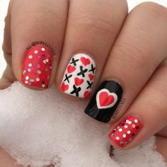 valentine by beregnails #nail #nails #nailart