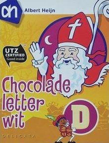 Chocoladeletter doosje
