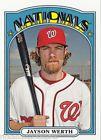 2013 Topps Archives (1972 Design) Card #26 Jayson Werth Washington Nationals
