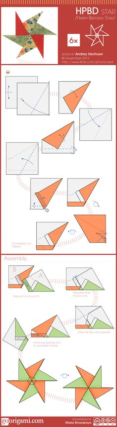 HPBD Origami Star (Andrey Hechuev)