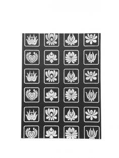 Matyó piktogrammok szitanyomat, Baba-mama-gyerek, Gyerekszoba, Baba falikép, Karácsonyi, adventi apróságok, Meska
