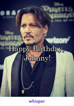 Happy Birthday,  Johnny! (9. Juni 2017)