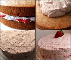 A Feast for the Eyes: Strawberry Dream Cake, From Scratch!