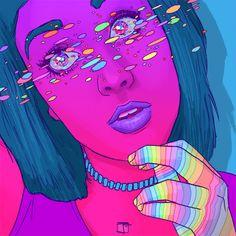 Phazed beautiful energy psychedelia psychedelic art