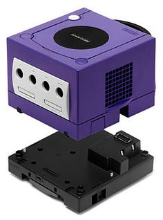 GameCube Game Boy Player - device made by Nintendo for the GameCube that enabled Gameboy, Gameboy Color & Gameboy Advance games to be played on the TV.