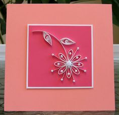 all things paper: Quilled Daisy Card