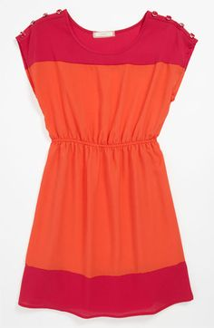 Soprano Colorblock Dress (Big Girls) available at #Nordstrom Libby