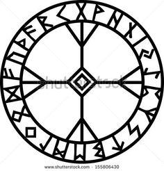 Algiz Rune, Elhaz, Runic Amulet