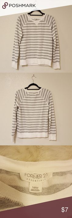 Forever 21 Long Sleeve Thin Sweater Size M * Preloved. Small stain on the left sleeve. Photo included. * Measurements, Material, Care Instructions, and Weight included in pics. * Offers welcome. Bundle to save $$$! * Art is courtesy of A Room Full of Paintings. Use PROMO CODE: SweetTeeTab for 20% off! Link below. https://www.aroomfullofpaintings.com/ Forever 21 Sweaters