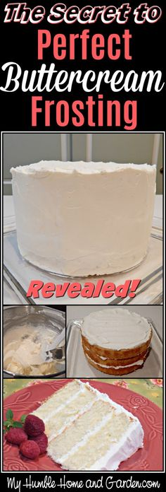 The Secret To Perfect Buttercream Frosting! - My Humble Home and Garden The Secret to Perfect Buttercream Frosting Revealed! Wedding Cake Frosting, Best Buttercream Frosting, Crumb Coat Frosting Recipe, Best Buttercream Recipe For Decorating, American Buttercream Frosting Recipe, Buttercream Ideas, Almond Frosting, Cupcake Frosting Recipes, Italian Buttercream
