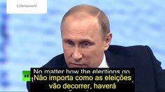 Vladimir Putin fala sobre Donald Trump e Eleições.