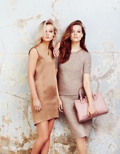 NEW NEUTRALS:  Champagne, dove grey and taupe are some of the season's most grown-up shades. Look out for interesting fabrics for an on-trend twist www.elleuk.com/mcarthurglenuk #promo