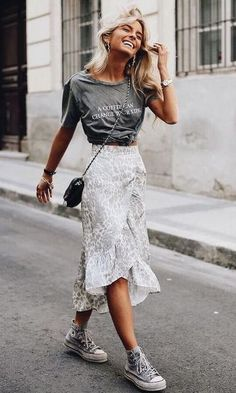 Super Ideas For Womens Fashion Spring Street Style Cute Spring Outfits, Trendy Outfits, Cute Outfits, Fashion Outfits, Summer Outfit, Travel Outfits, Fashion Mode, Look Fashion, Trendy Fashion