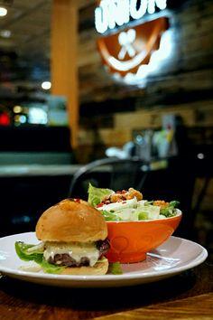 """""""Burger & Salad Set"""", Soup Spoon Union, Singapore"""
