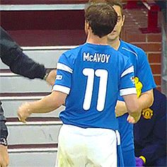 James McAvoy he has my favorite number on :) James Mcavoy, Glasgow, Soccer Aid, Charles Xavier, Scottish Actors, Actor James, Liam Hemsworth, Actress Christina, Chris Pine
