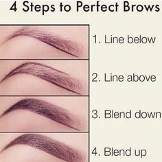Easy 4 step to perfect browsss I recommend using a Mac spiked eyebrow pencil or a NYX Micro Brow Pencil to lightly sketch out the lower eyebrow Easiest guide in my opinion Eyebrow Makeup Tips Eyebrow Makeup Tips, Skin Makeup, Makeup Eyebrows, Eyeshadow Makeup, Eyebrow Tinting, Eyebrow Brush, Brow Gel, Nyx Eyebrow Pencil, Zendaya Eyebrows