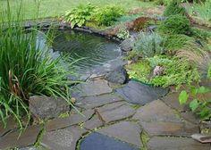 back yard ponds | 21 Garden Design Ideas, Small Ponds Turn Your Backyard Landscaping ...