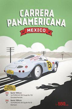 Carrera Panamericana - México, 1953-1954