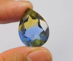 15 Cts. Treated Faceted Ametrine Cut Pear Shape Gemstone ANG2030