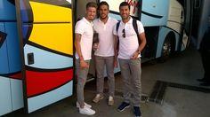 .@makarthycc acompaña al #MalagaCF en su último desplazamiento de la temporada. #MCFLive