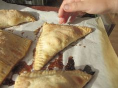 Apple Turnovers recipe with homemade puff pastry from Little House on the Prairie's Farmer Boy
