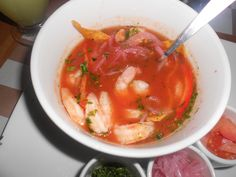 ceviche, one of my favorite foods...when made in Ecuador