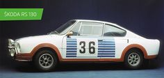 SKODA 130 RS #SKODA #SkodaStory Volkswagen Group, Car Makes, European Countries, Czech Republic, Sport Cars, Cars And Motorcycles, Vintage Cars, Rock And Roll, Automobile