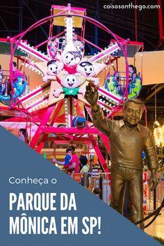Procurando dicas de passeio divertido em São Paulo? Visite o Parque da Monica no Shopping SP Market!