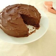 Simple Chocolate Cake Recipe - Are you ready to cook? Let's try to make Simple Chocolate Cake in your home! Dairy Free Chocolate Cake, Chocolate Icing, Chocolate Recipes, Easy Cakes To Make, How To Make Cake, Ice Cake, Cake Tins, Cake Recipes, Keto Recipes