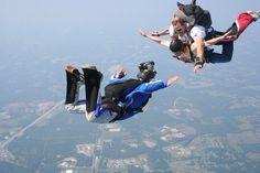 тандем+видео Skydiving Salisbury,NC