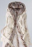 Fashion Winter Necessary Lady's Slim Warm Coat Beige zł36.49