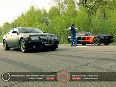 Chrysler 300 SRT-8 Stroker Supercharged VS. Ford Mustang GT500 Stock