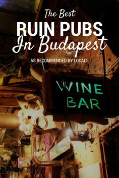 Ruin pubs are synonymous with Budapest, Hungary. These dilapidated bars are shambolic, cool and an awesome place to spend a night out. But what are the best Ruin pubs in Budapest? From Szimpla Kert to Instant to Mazel Tof, I asked a local to help me explore which are the best.