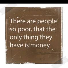 Poor people          ................