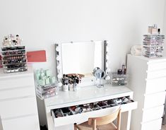 Makeup Vanity with IKEA Malm