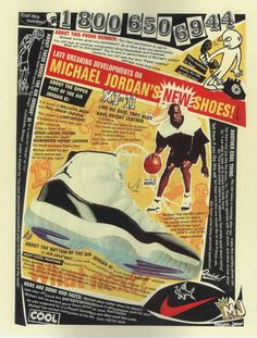 Mike, N. Spring Section The evolution of Air Jordan. By the Nike has gotten away from using its name in the Jordan advertising, choosing instead to be Air Jordan. Previously the shoes were called Nike Air Jordans, then Air Jordans buy Nike. Anuncio Nike, Nike Poster, Air Jordan Xi, Jordan Shoes, Michael Jordan News, Nike Ad, Shoes Wallpaper, Shoes Ads, Site Nike