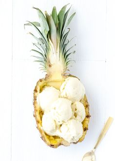 Ice | Pineapple | Perfect combination | Summer | Food | Healthy | Tasty | More on Fashionchick.nl