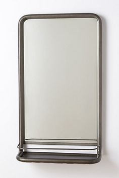 "Anthropologies, washroom mirror, $298, bathroom mirror, 31"" H x 18.25"" w, 6.25"" projection"