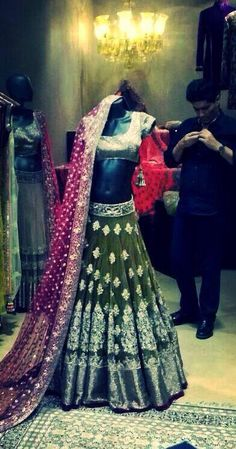 Manish Malhotra at work