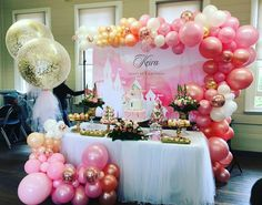 Login Pinks and Rose gold organic balloon decorations with gold confetti tulle balloons Balloon Wall, Balloon Arch, Balloon Garland, Balloon Decorations, Tulle Balloons, Jumbo Balloons, Home Wedding Decorations, Gold Confetti, Amazing Pics