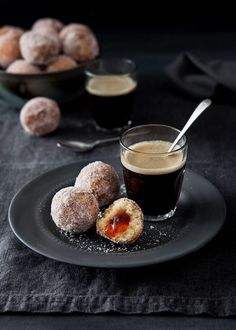 easy doughnut holes | by flour & aprons